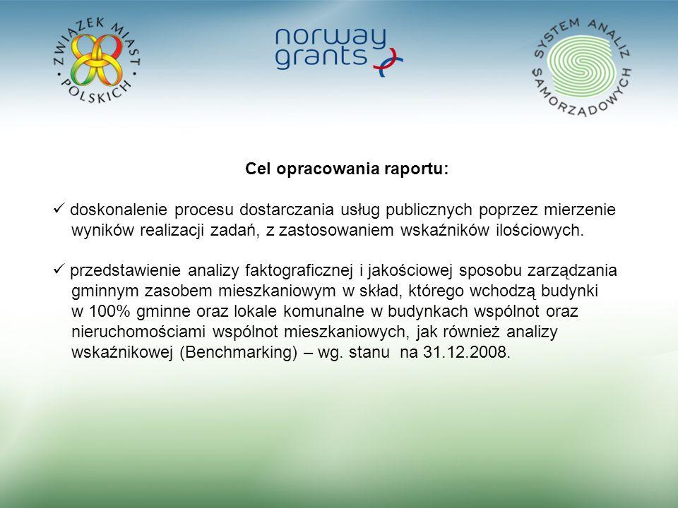 2 Cel opracowania raportu: doskonalenie procesu dostarczania usług publicznych poprzez mierzenie wyników realizacji zadań, z zastosowaniem wskaźników
