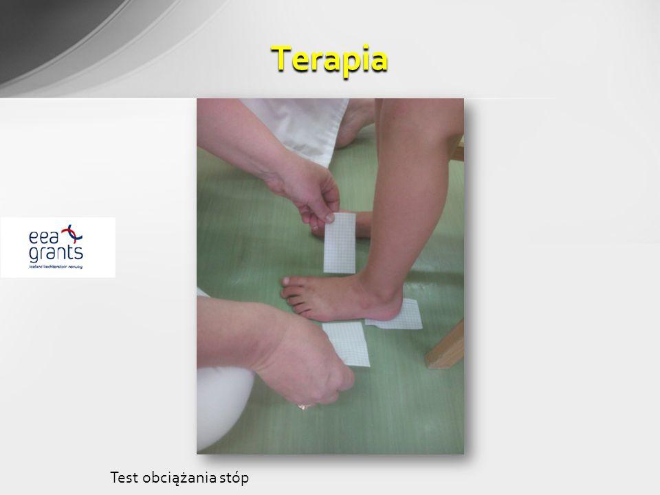 Terapia Test obciążania stóp