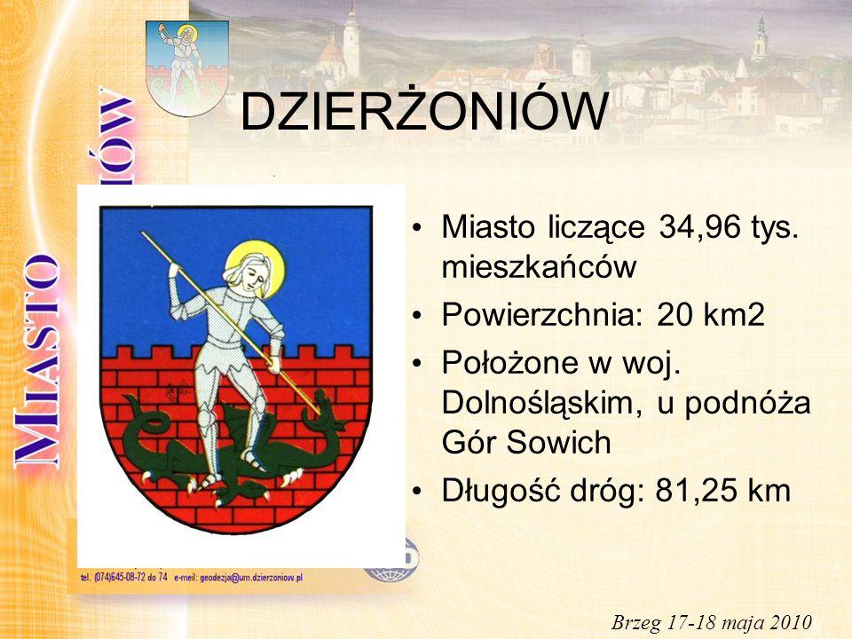Dziękuję za uwagę Zygmunt Kuc Urząd Miasta Rynek 1 58-200 Dzierżoniów adres e-mail: zkuc@um.dzierzoniow.pl Brzeg 17-18 maja 2010g