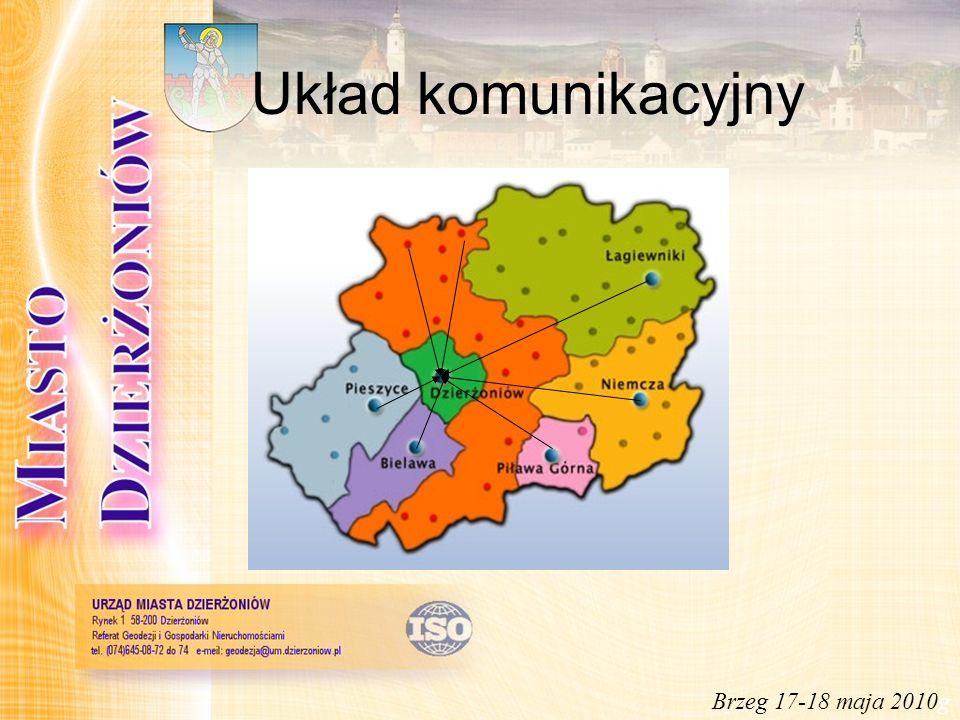 Wozokilometry w podziale na gminy