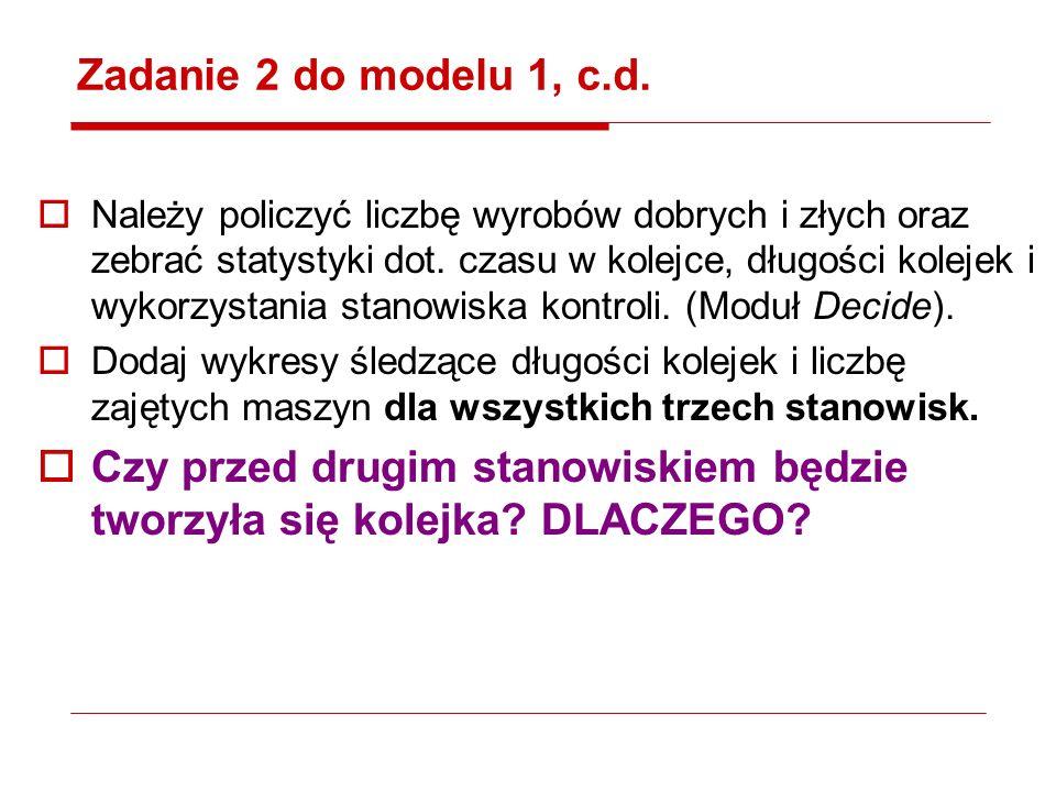 Zadanie 2 do modelu 1, c.d.