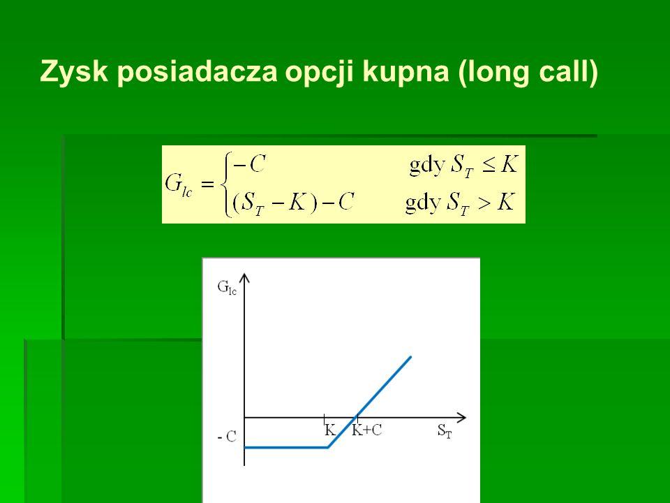 Model dwumianowy dwuokresowy Stosując wzór na wycenę opcji kupna w modelu jednookresowym dla węzłów (b), (c) otrzymujemy Znając te wyceny można wyznaczyć cenę opcji w chwili początkowej - czyli w węźle (a)