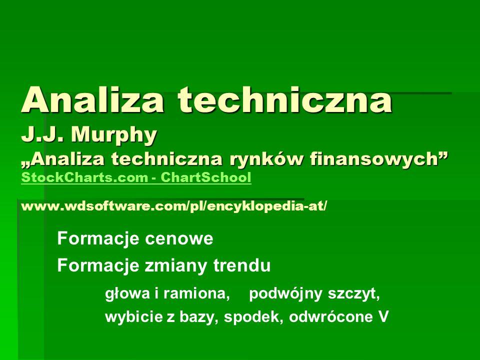Analiza techniczna J.J.Murphy Analiza techniczna rynków finansowych Analiza techniczna J.J.