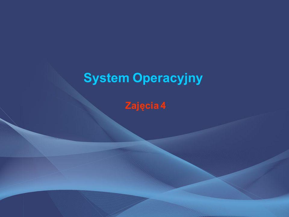 System Operacyjny (OS) System operacyjny (z ang.