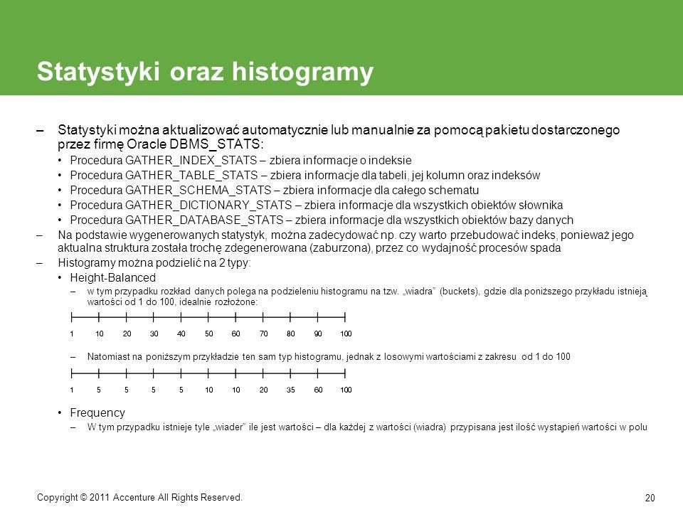 Ćwiczenie 1.Wskazać, dla których pól (ze struktury bazy z wykładu 1) należy założyć indeksy oraz jakiego rodzaju.