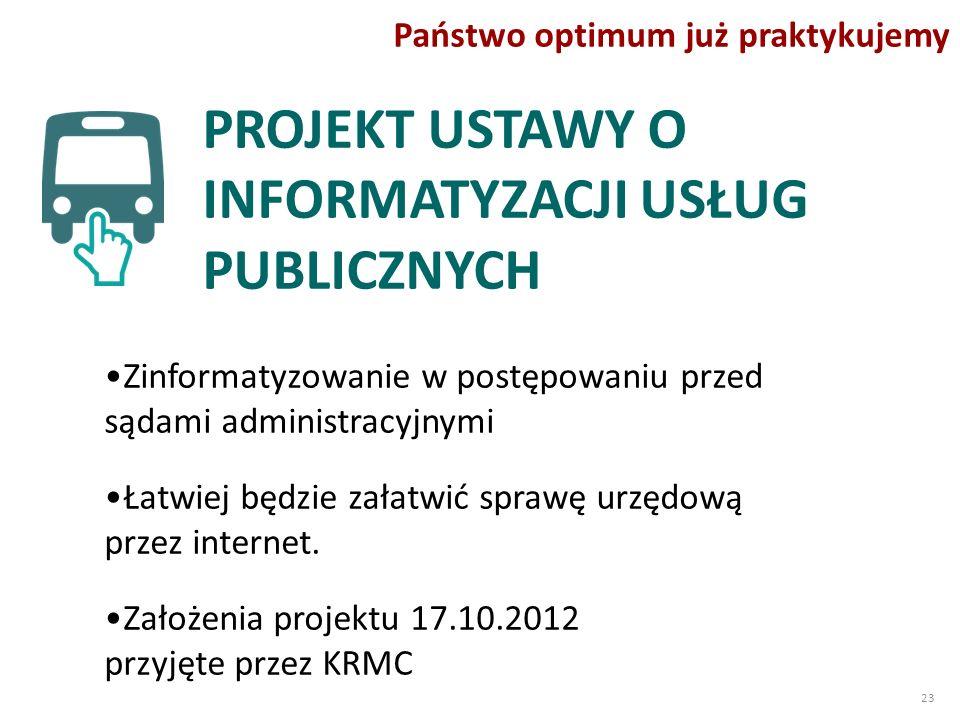 Zinformatyzowanie w postępowaniu przed sądami administracyjnymi Łatwiej będzie załatwić sprawę urzędową przez internet.