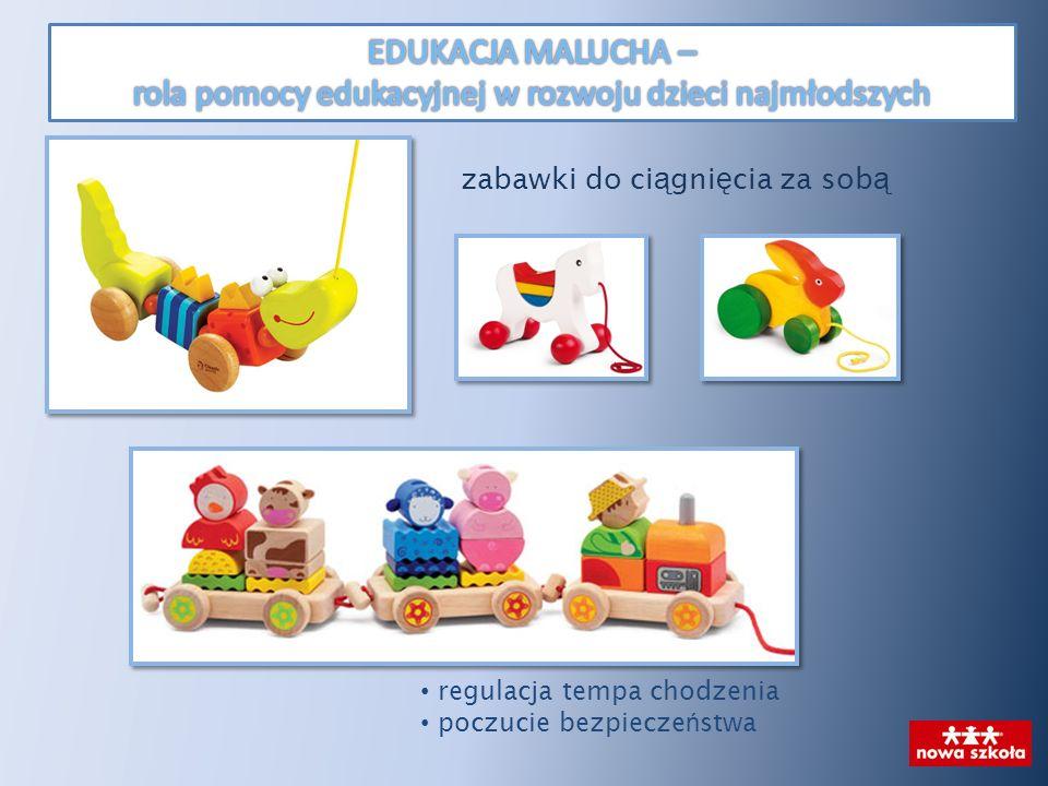 zabawki do ci ą gni ę cia za sob ą regulacja tempa chodzenia poczucie bezpiecze ń stwa