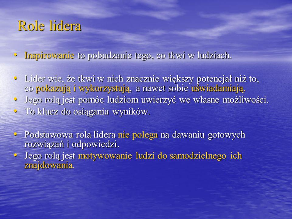 DEFINICJA PRZYWÓDZTWA Rafał Mrówka Przywództwo w organizacji, s.