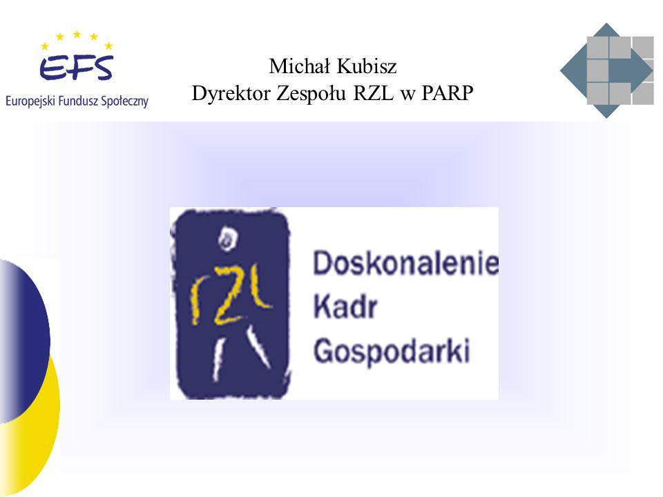Michał Kubisz Dyrektor Zespołu RZL w PARP