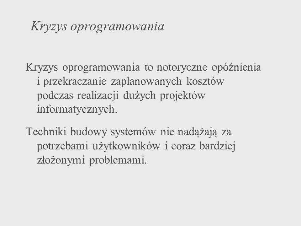 Bibliografia http://www.rational.com http://www.omg.org K.Subieta.