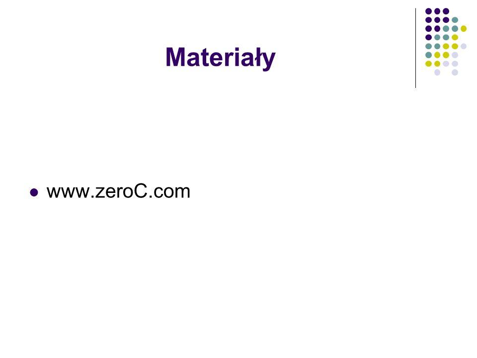 Materiały www.zeroC.com