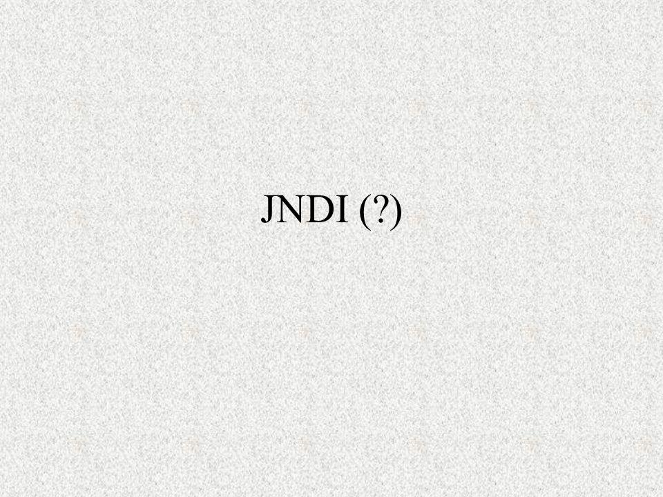 JNDI (?)