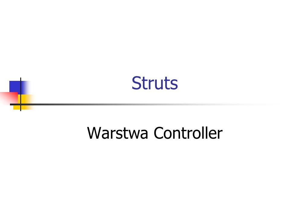 Struts Warstwa Controller