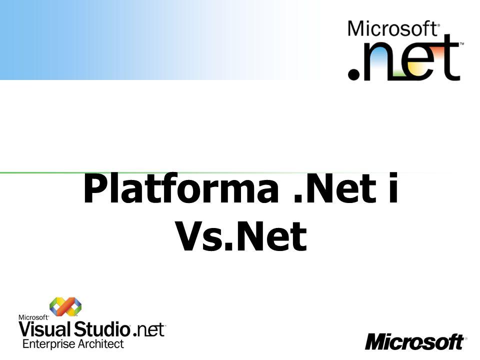 Platforma.Net i Vs.Net