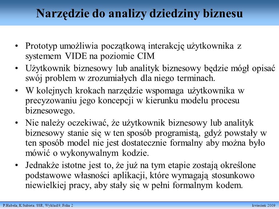 P.Habela, K.Subieta.