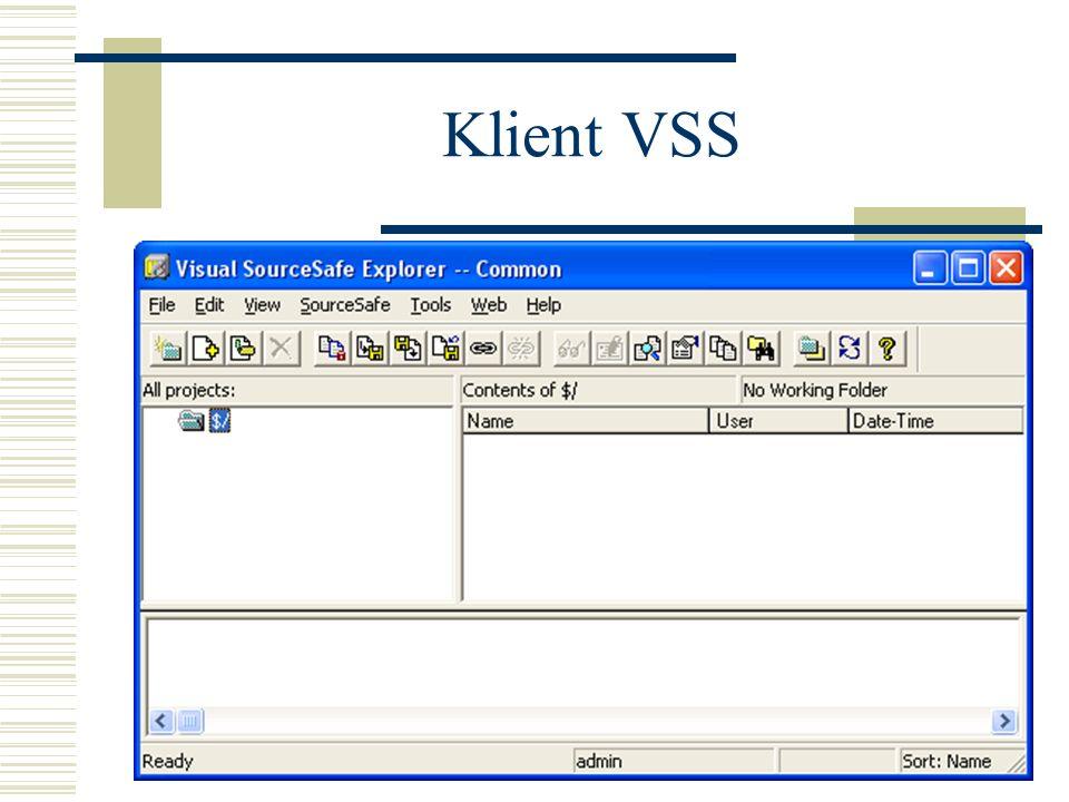 Pozostałe operacje Cloacking (nieużywane segmenty projektu) Kontrola wersji - etykietowanie (Labels) Blokowanie edycji (Pinning) plików i projektów Powrót do wcześniejszych wersji Zmienianie hasła Praca z poziomu lini poleceń