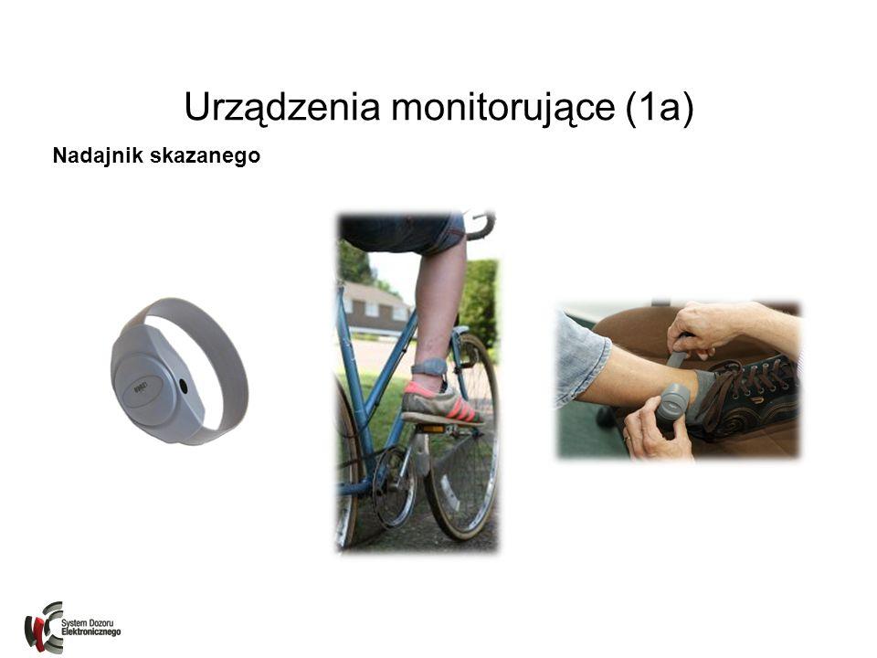 Urządzenia monitorujące (1a) Nadajnik skazanego