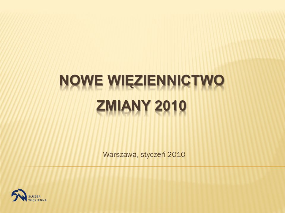Warszawa, styczeń 2010
