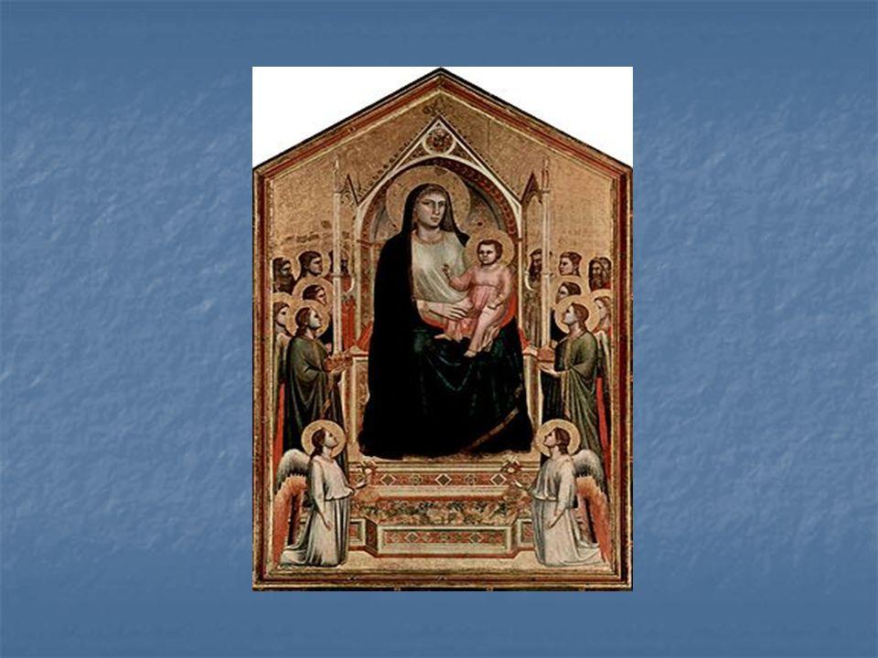 Obraz został namalowany dla kościoła Ognissanti (Wszystkich Świętych) we Florencji, po powrocie malarza z Padwy, w okresie, gdy jego malarstwo cieszyło się dużym uznaniem.