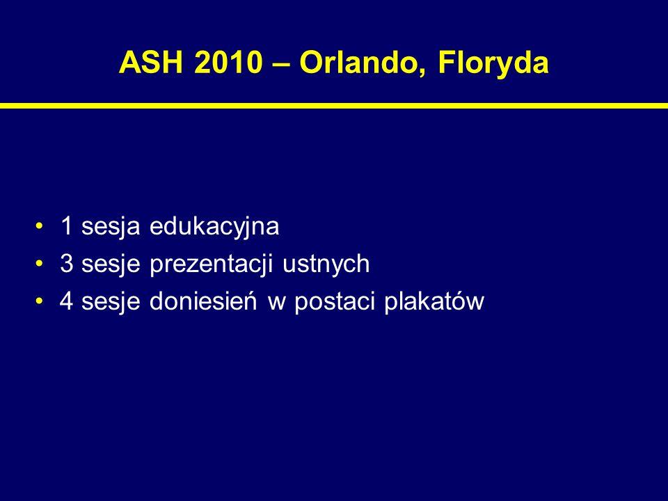 Szpiczak mnogi – ASH 2010 nowe leki – Leki o innych mechanizmach działania – inhibitory deacetylazy histonów VORINOSTAT, PANOBINOSTAT