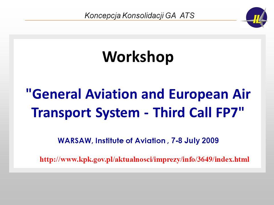 Koncepcja Konsolidacji GA ATS Workshop