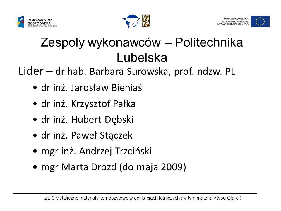 2.Wnioski z wizyt studyjnych w DL Przedsiębiorstwa: – WSK PZL-Świdnik S.A.