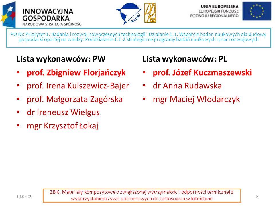 PO IG: Priorytet 1. Badania i rozwój nowoczesnych technologii: Działanie 1.1. Wsparcie badań naukowych dla budowy gospodarki opartej na wiedzy. Poddzi