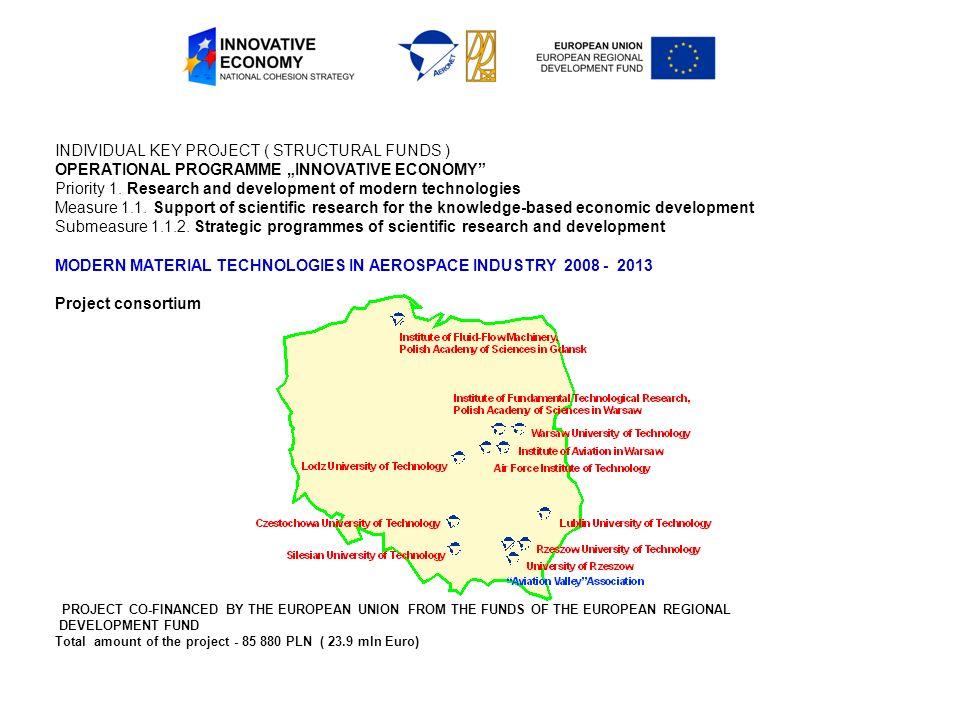 Promocja projektu Strona internetowa projektu http://pkaero.prz.edu.pl oraz informacje na stronach www Centrum Zaawansowanych Technologii AERONET DL oraz stronach Partnerów www.aeronet.plhttp://pkaero.prz.edu.pl Coroczne Konferencje Projektowe (konferencja inaugurująca, 4 konferencje etapowe, oraz konferencja podsumowująca) oraz Spotkania Paneli Ekspertów Czynne uczestnictwo zaangażowanych naukowców w krajowych i międzynarodowych konferencjach specjalistycznych Czynny udział przedstawicieli zespołów badawczych w seminariach, spotkaniach technologicznych, targach branżowych, Publikacje naukowe i naukowo-techniczne w renomowanych czasopismach specjalistycznych krajowych i zagranicznych.