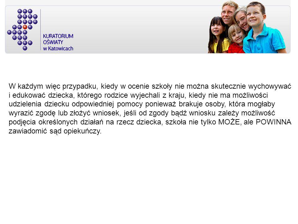 II.Migracja zarobkowa rodziców w woj. śląskim We wrześniu 2008 r.