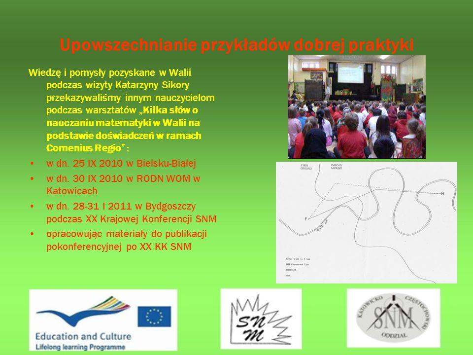 Upowszechnianie przykładów dobrej praktyki W ramach upowszechniania przykładów dobrej praktyki nauczycieli matematyki – członków SNM, zorganizowaliśmy szereg konferencji i warsztatów z udziałem partnerów lokalnych projektu.