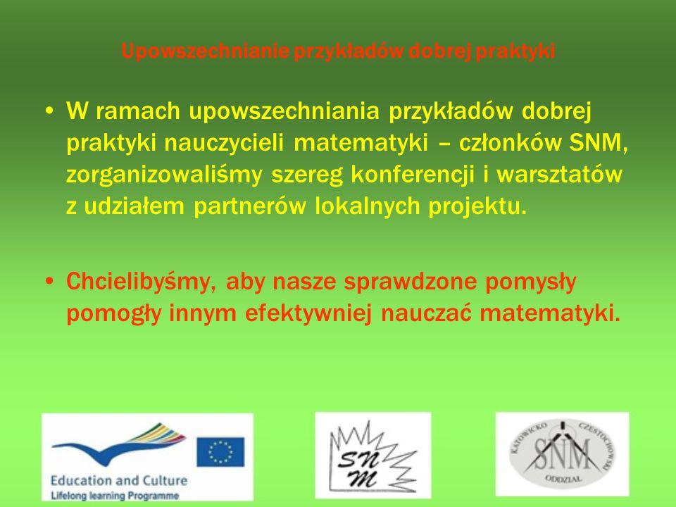 Wpływ udziału w projekcie Comenius Regio Zamierzamy uczestniczyć w przyszłości w różnego rodzaju projektach UE w celu dalszego własnego rozwoju oraz doskonaleniu swojego warsztatu pracy.