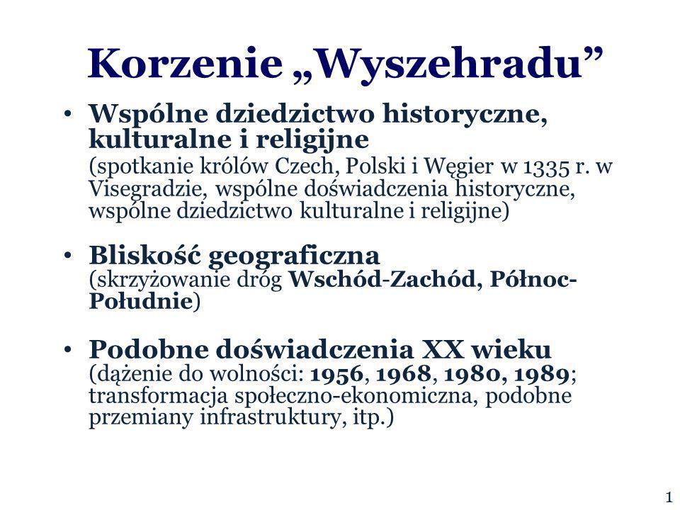 Korzenie Wyszehradu Wspólne dziedzictwo historyczne, kulturalne i religijne (spotkanie królów Czech, Polski i Węgier w 1335 r.