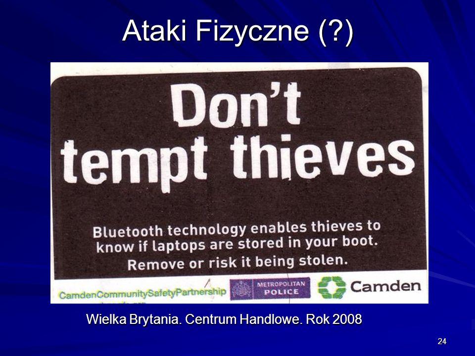 24 Ataki Fizyczne (?) Wielka Brytania. Centrum Handlowe. Rok 2008