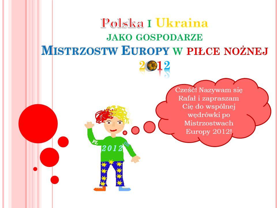 Cześć! Nazywam się Rafał i zapraszam Cię do wspólnej wędrówki po Mistrzostwach Europy 2012!