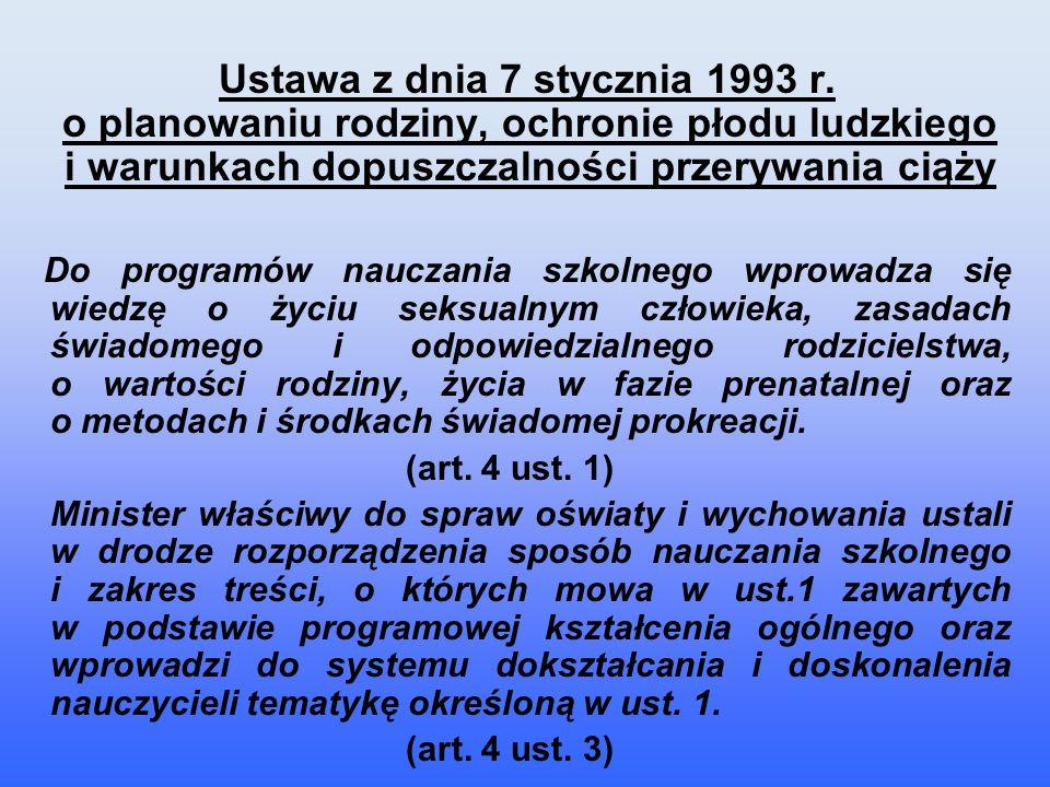 Ustawa z dnia 7 stycznia 1993 r.