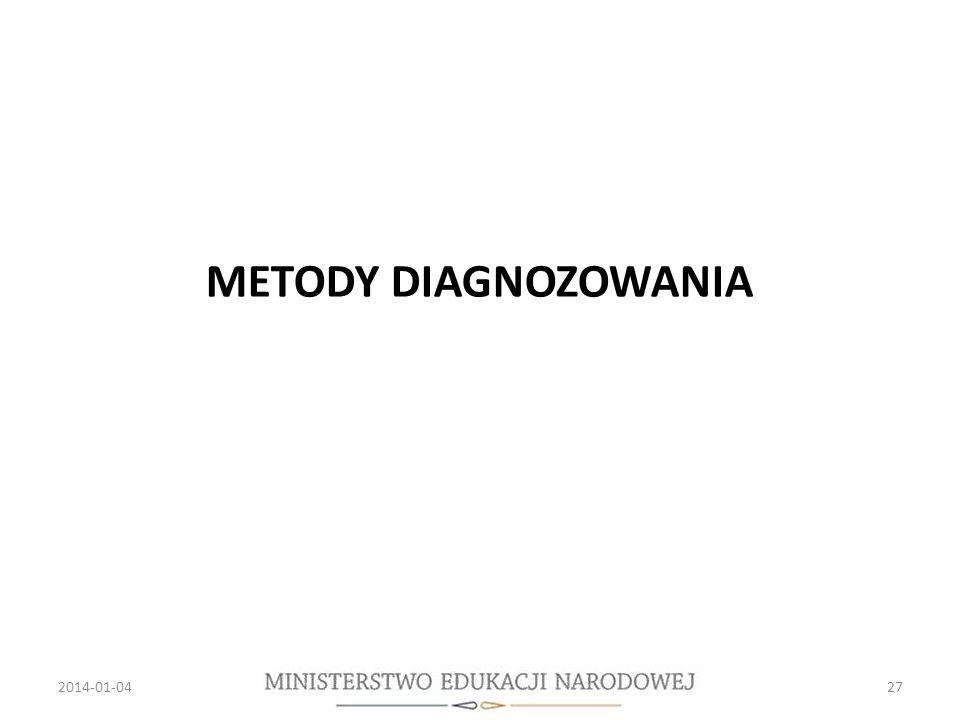 METODY DIAGNOZOWANIA 2014-01-0427
