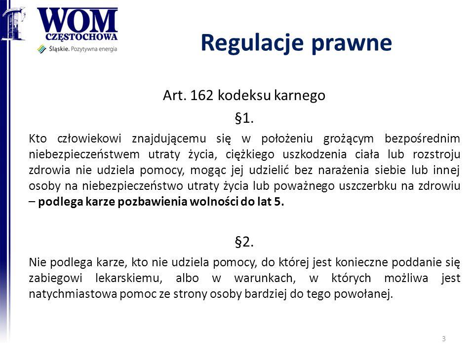 Regulacje prawne Art.162 kodeksu karnego §1.