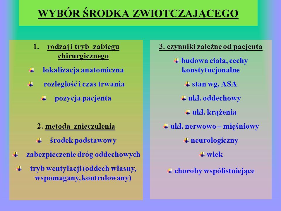 MONITOROWANIE BLOKADY NERWOWO-MIĘŚNIOWEJ Rejestracja odpowiedzi : WZROKOWA I DOTYKOWA MECHANOMIOGRAFIA ELEKTROMIOGRAFIA AKCELEROMIOGRAFIA OCENA KLINIC