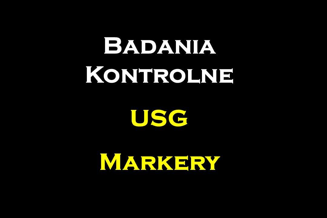 Badania Kontrolne USG Markery