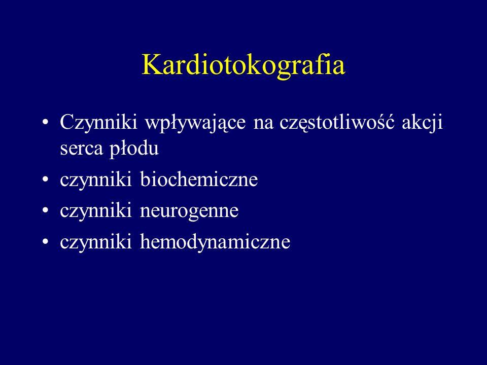 Kardiotokografia Kardiotokografia przerywana - jest to powtarzany (przykładowo co godzinę) zapis kardiotokograficzny (np.15-minutowy) kompromisem międ