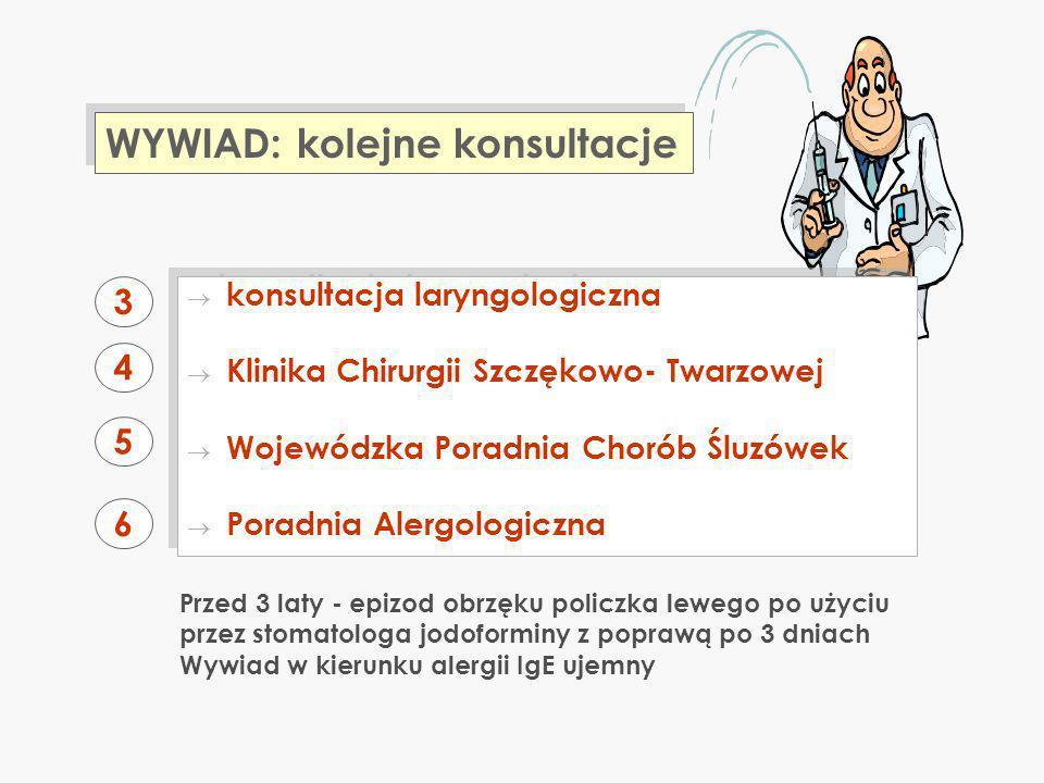 1.Od 2001 roku leczona z powodu niedoczyn- ności tarczycy: lewotyroksyna (Euthyrox) 2.
