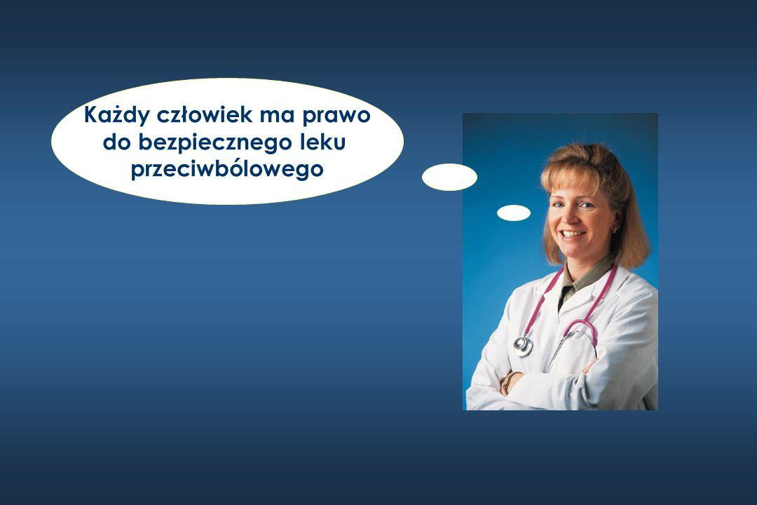 Każdy człowiek ma prawo do bezpiecznego leku przeciwbólowego