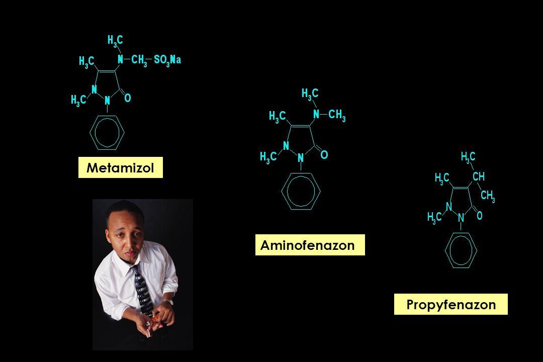 No: 01/2002 Program diagnostyczny Badanie przedmiotowe: bez odchyleń od stanu prawidłowego Testy punktowe: badanie przesiewowe Testy punktowe: metamizol Bezpieczny lek przeciwbólowy Pyralgina ?