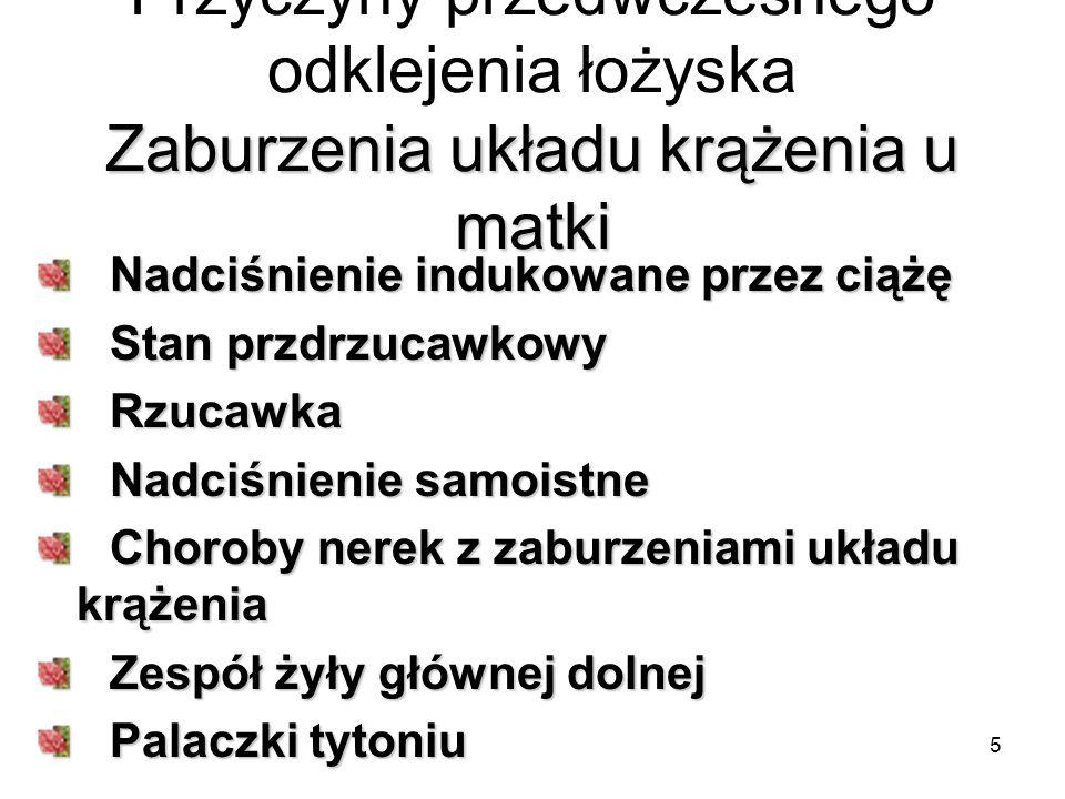 16 Łożysko przodujące – placenta praevia Definicja: stan patologicznego usytuowania łożyska w kolizji z ujściem wewnętrznym szyjki macicy – łożysko przoduje (praevius – przodujący) Częstość występowania – 0,5% porodów Pierworódki – 1/1000 Liczne wieloródki – 1/20