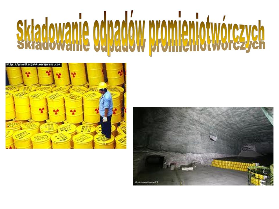 Czym są odpady promieniotwórcze.Źródła odpadów promieniotwórczych.