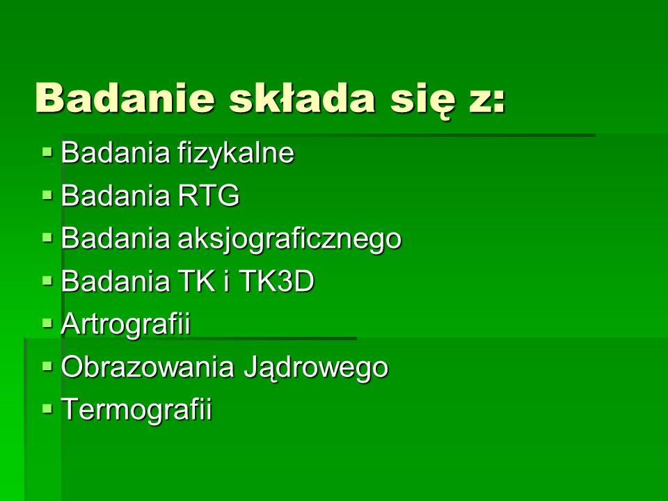 OBJAWY: opuszczona żuchwa, zgryz otwarty utrudnione zwieranie szczęk bolesność palpacyjna okolicy stawu s.ż.