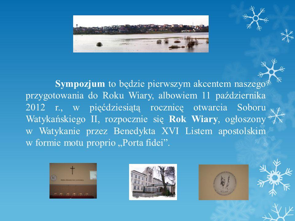 ORGANIZATORZY: Wydział Teologiczny UKSW w Warszawie, Wyższe Seminarium Duchowne w Łomży, Wydział Nauczania i Wychowania Katolickiego Łomżyńskiej Kurii Diecezjalnej