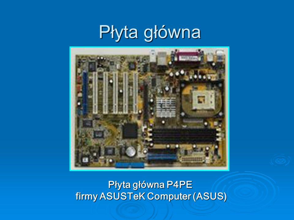 Płyta główna Płyta główna P4PE firmy ASUSTeK Computer (ASUS)