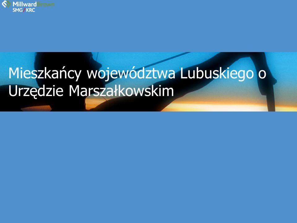 Mieszkańcy województwa Lubuskiego o Urzędzie Marszałkowskim