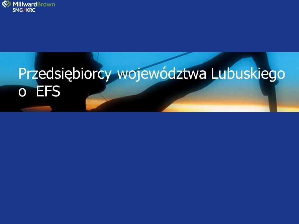 Przedsiębiorcy województwa Lubuskiego o EFS